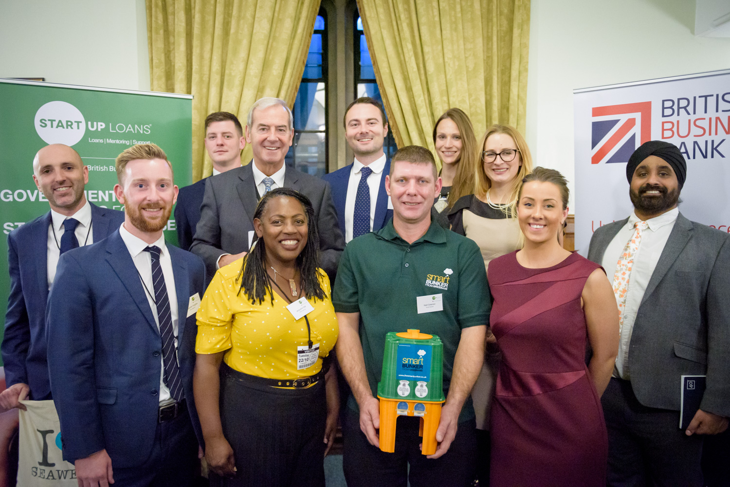 SME Start Up Loan Ambassadors with Lord Smith